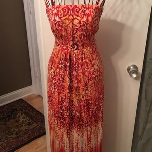 NWT soma xs maxi dress